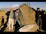 De amarre y remolque de piedras colgante - Arca de Noé