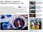 Program NSA masového sledování elektronické komunikace