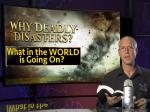 Živelné pohromy - webinář - Steve Wohlberg